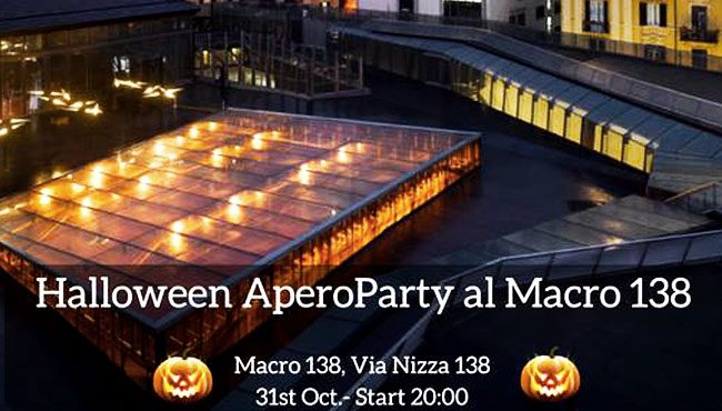 Halloween Party al museo Macro di via Nizza