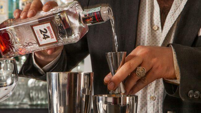 Mixology beefeater gin