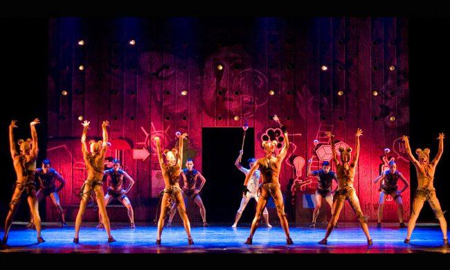 spettacolo ballo auditorium