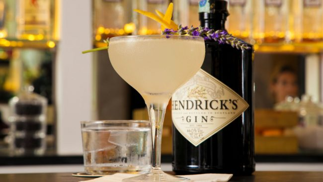 Aviation Hendrick's gin