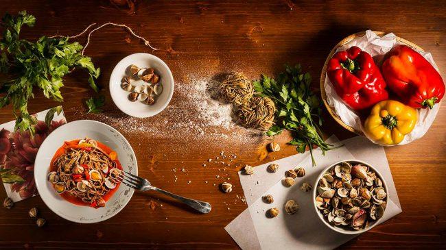 ingredienti pasta vongole
