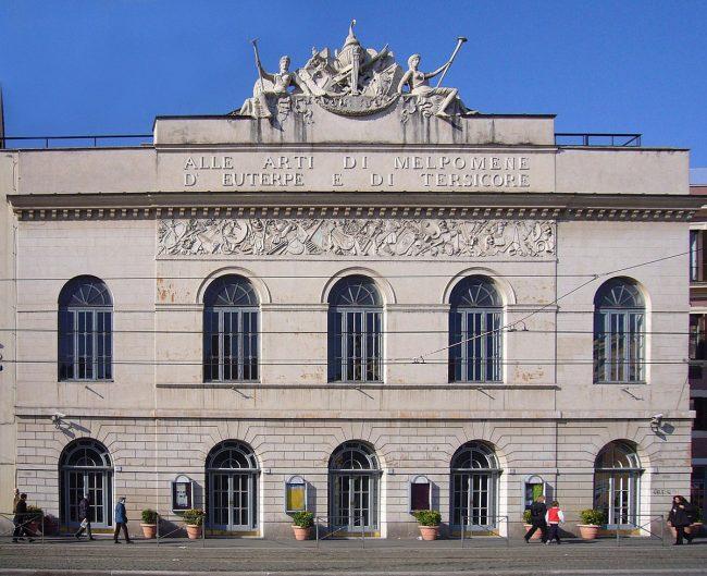 facciata teatro