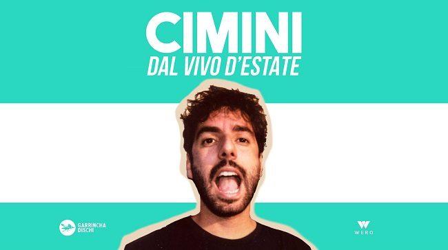 Cimini live: il cantautore calabrese all'Ex Dogana