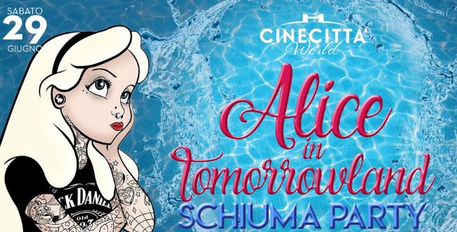 Pool Party Alice in Tomorrowland – Schiuma Party
