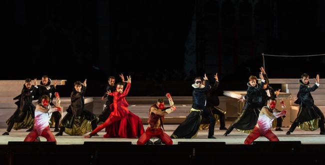 Romeo e Giulietta- il balletto a Caracalla