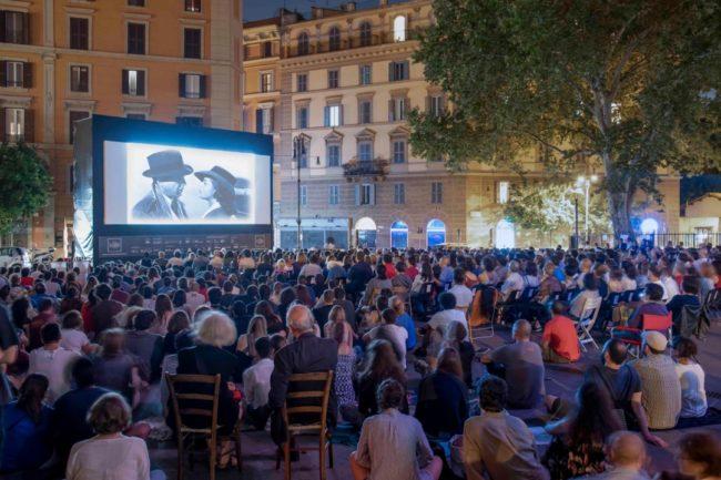 Cinema all'aperto a Roma estate 2019