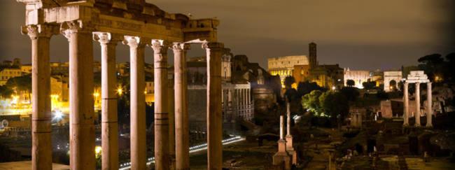 La notte di San Lorenzo al Foro Romano