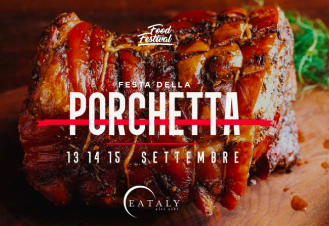 Festa della Porchetta da Eataly