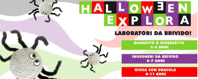 Halloween ad Explora: laboratori da brividi