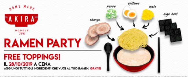 """""""Ramen Party"""" da Akira"""