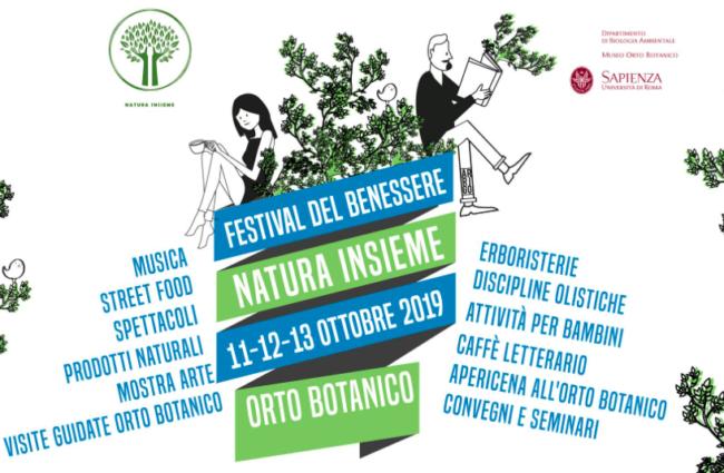 """Il """"Festival del Benessere"""" all'Orto Botanico di Roma"""