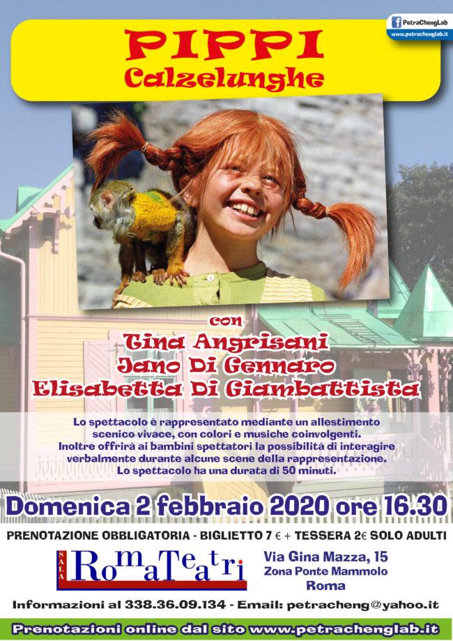 Pippi Calzelunghe a Roma Teatri